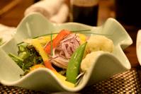清流豚秋野菜サラダ