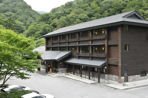 甲子温泉 旅館大黒屋 外観