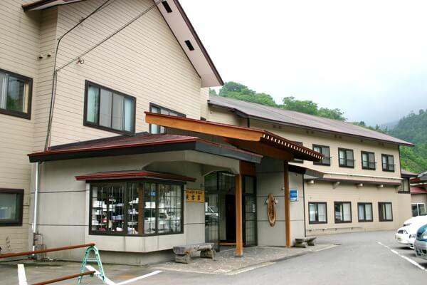 松川温泉 峡雲荘 外観
