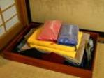 浴衣・羽織・タオル(大・小)・歯磨きセット