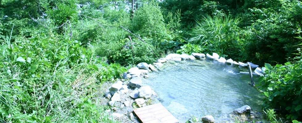 白馬八方温泉 小日向の湯の野湯イメージ