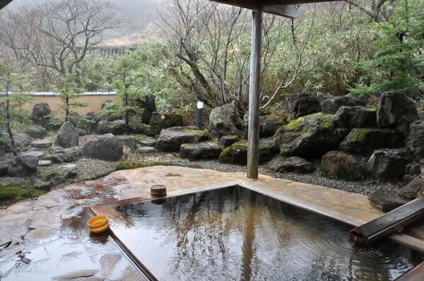 岩根の湯 女性用露天風呂