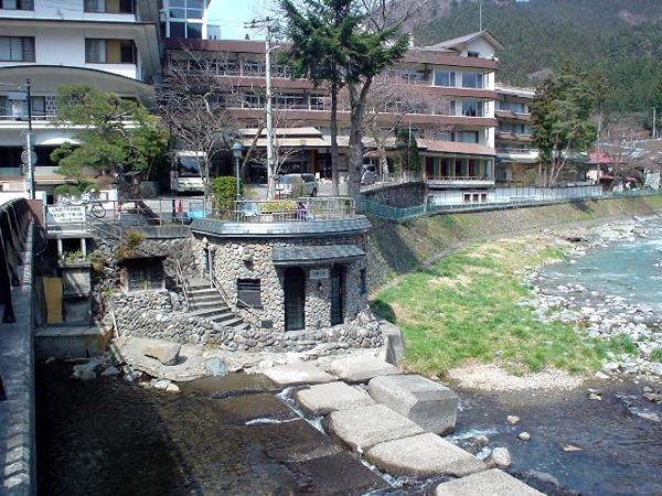 四万温泉 河原の湯 1