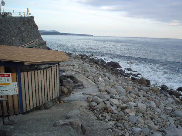 北川温泉-黒根岩風呂1