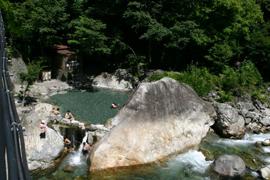 新穂高温泉-新穂高の湯 温泉を楽しむ