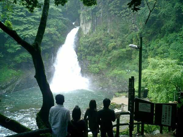 大滝温泉 天城荘  天城七滝の大滝