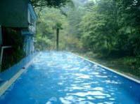 プールの湯