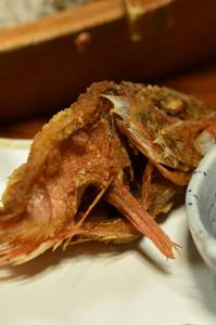 カサゴの天ぷら