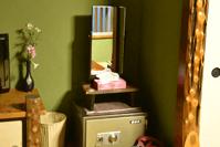鏡台と金庫