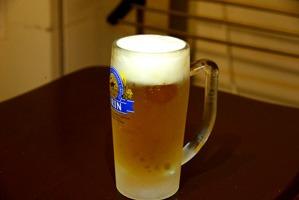 生ビール500円!