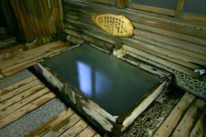 大浴場のさまし湯(源泉100%)