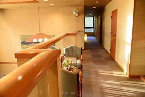 2階 部屋の前の廊下