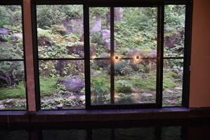 大浴場 窓からの景色