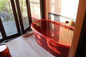 浴槽はこんな感じ