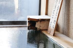 木漏れ日の湯 内湯 源泉