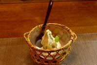 自家製さつま芋のソフトクリーム