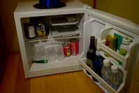 冷蔵庫 ビール、ジュースなど 有料