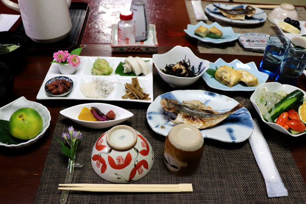 素朴だけど、繊細な朝食