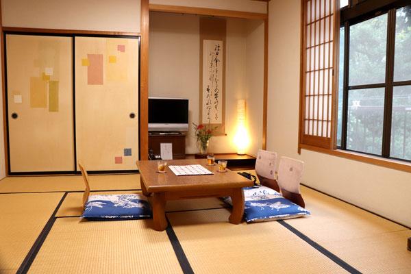 宿泊した部屋 和室10畳